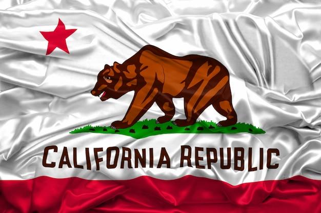 Drapeau, californie, etats-unis amérique