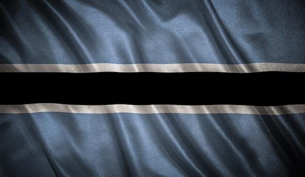 Drapeau du botswana background