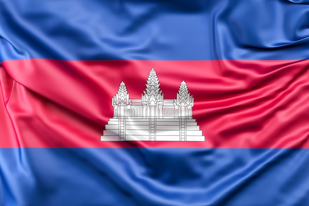 Drapeau du cambodge