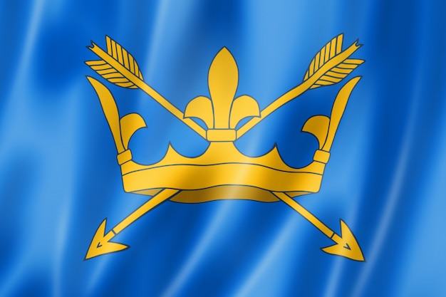 Drapeau du comté de suffolk, uk