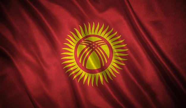 Drapeau du kirghizistan