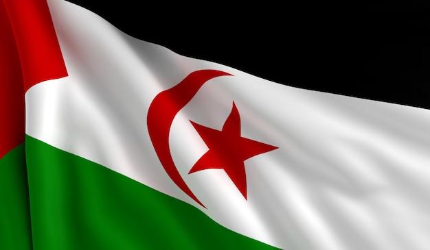 Drapeau du sahara occidental