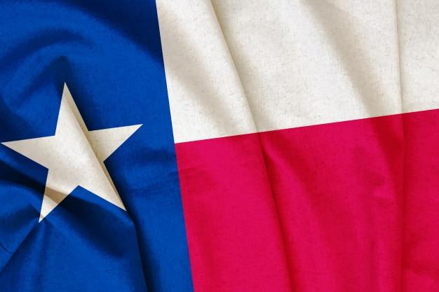 Drapeau du texas vintage