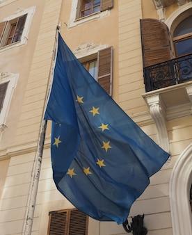 Drapeau européen de l'europe
