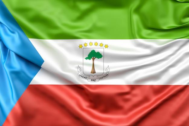 Drapeau de la guinée équatoriale
