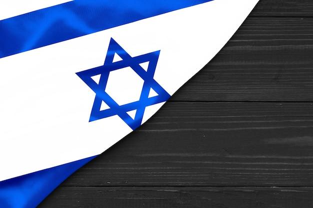 Drapeau d'israël copie espace