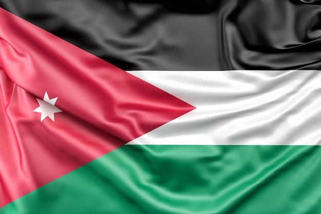 Drapeau de jordanie