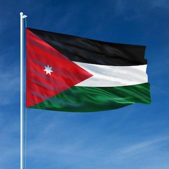 Drapeau de la jordanie