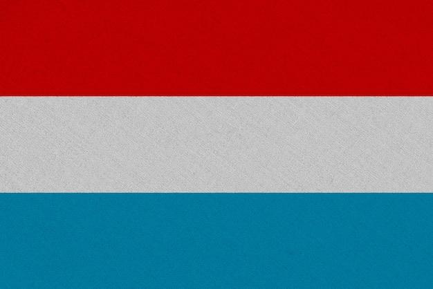 Drapeau luxembourg en tissu