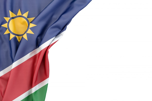 Drapeau de la namibie
