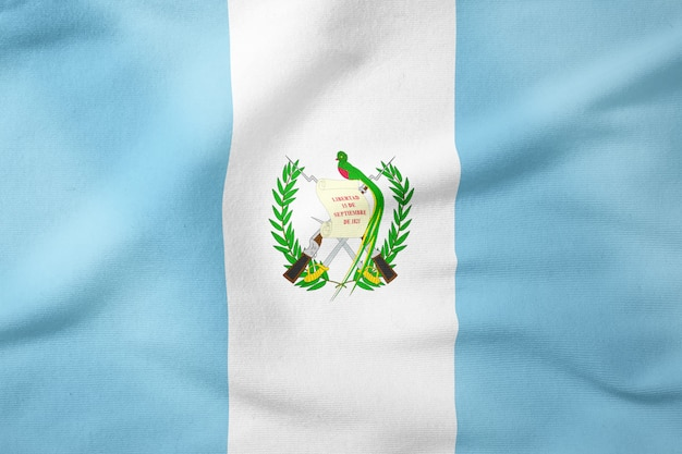 Drapeau national du guatemala