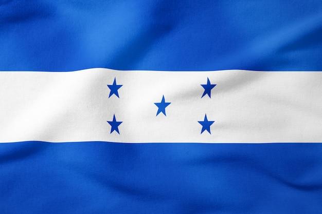 Drapeau national du honduras - symbole patriotique de forme rectangulaire