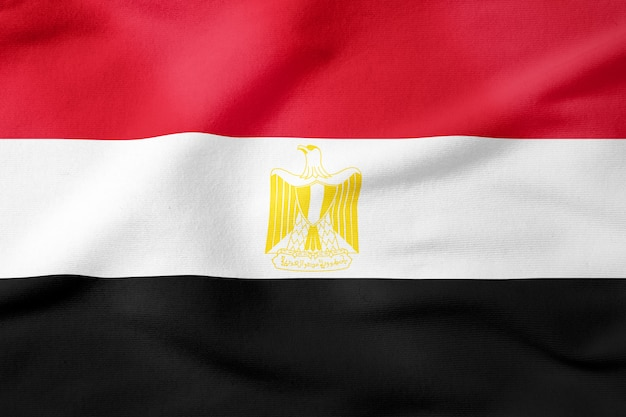 Drapeau national de l'egypte