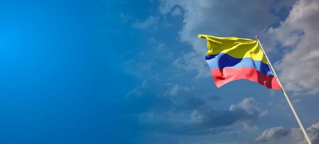 Drapeau national de l'état de la colombie