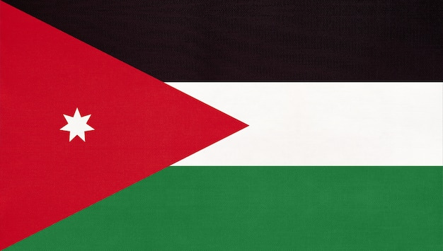 Drapeau national jordanien