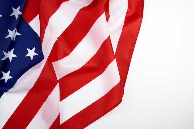 Drapeau national des textiles des états-unis d'amérique