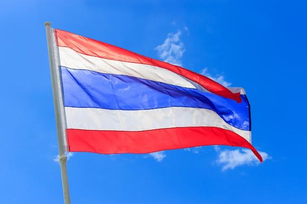 Drapeau national thaïlandais (thaïlande)