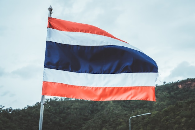 Drapeau national de la thaïlande