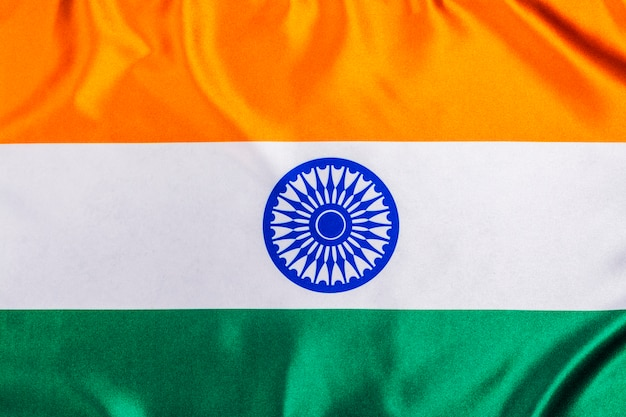 Drapeau de la république de l'inde