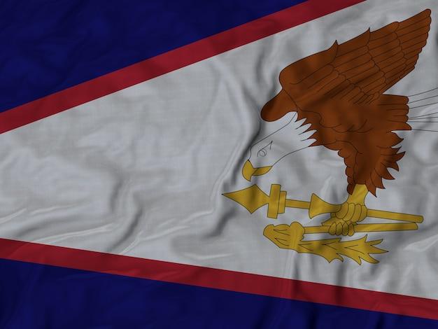 Drapeau des samoa américaines