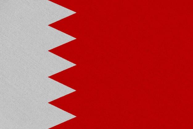 Drapeau tissu bahreïn