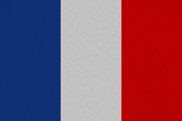 Drapeau tissu france