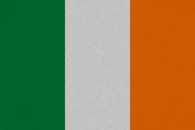 Drapeau en tissu irlande