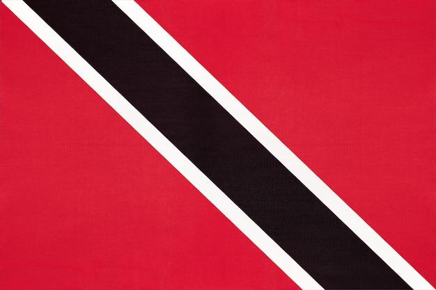 Drapeau de tissu national de trinité-et-tobago