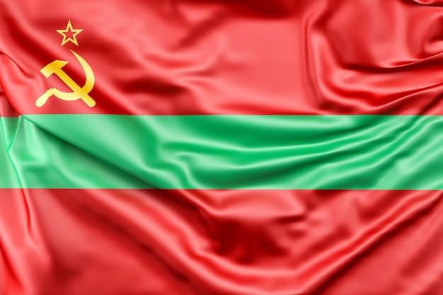 Drapeau de la transnistrie