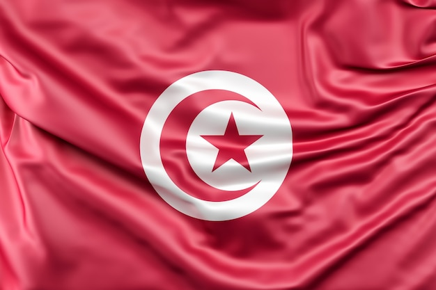 Drapeau de la tunisie