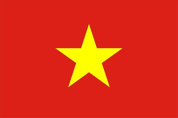 Drapeau vietnamien du vietnam