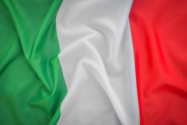 Drapeaux de l'italie.