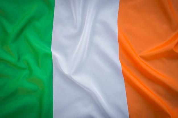 Drapeaux de la république d'irlande.