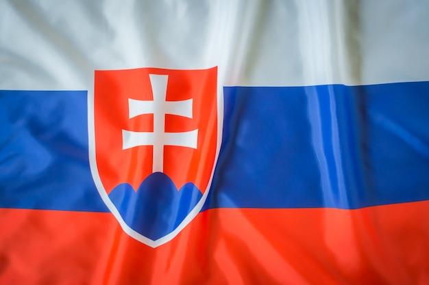 Drapeaux de slovaquie.