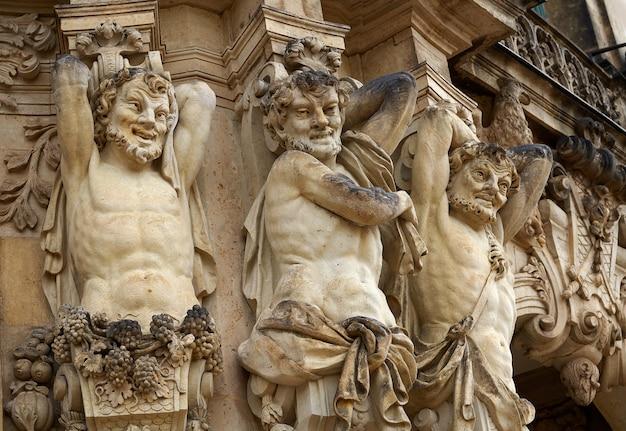 Dresden zwinger en saxe d'allemagne