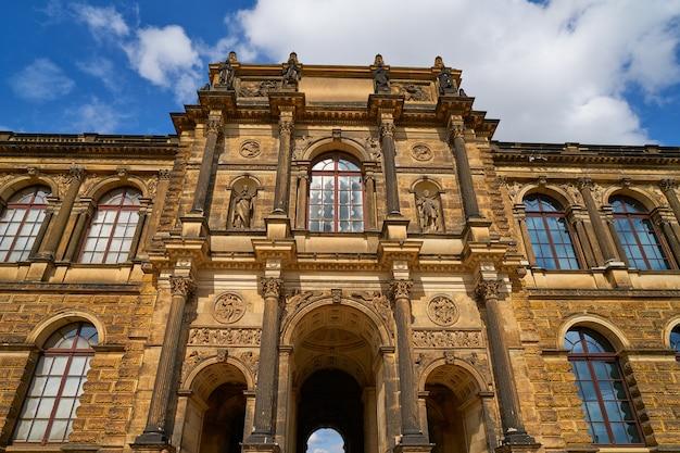 Dresden zwinger en saxe en allemagne