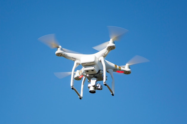 Drone blanc