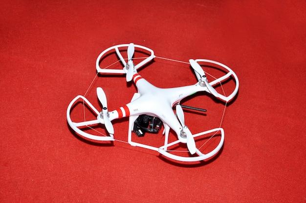 Drone camera fly
