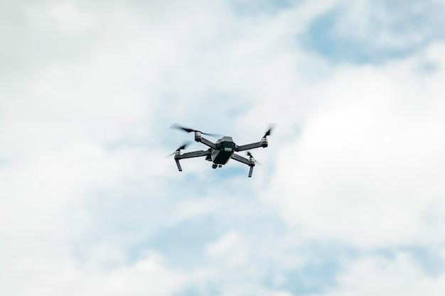 Drone dans l'air vidéo du mariage