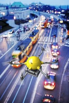 Drone livraison de nuit