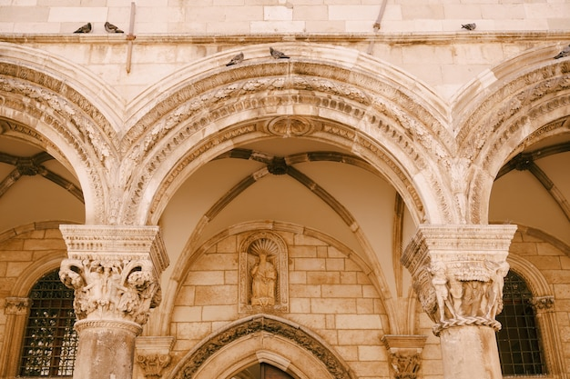 Dubrovnik croatie mai le palais princier
