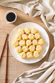 Dumpling chinois aux crevettes