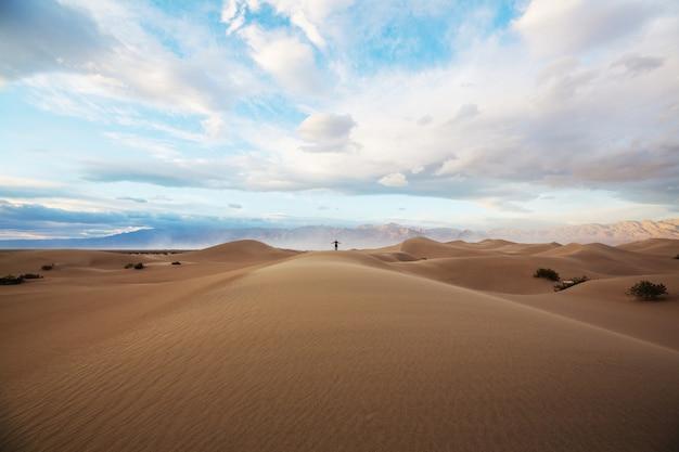 Dunes de sable dans le parc national de la vallée de la mort, californie, usa