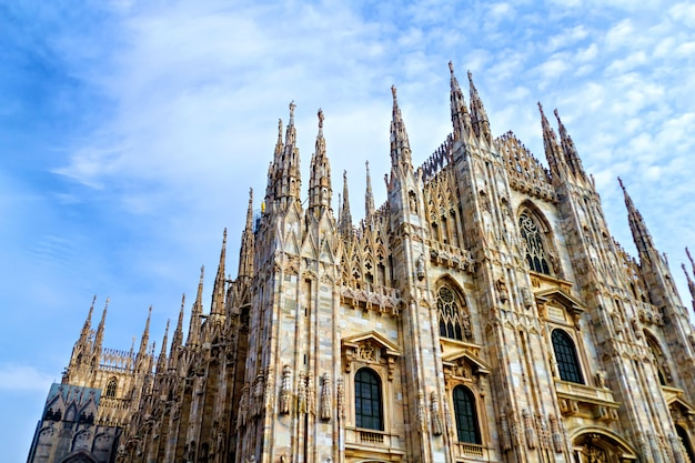 Duomo, cathédrale de milan, italie