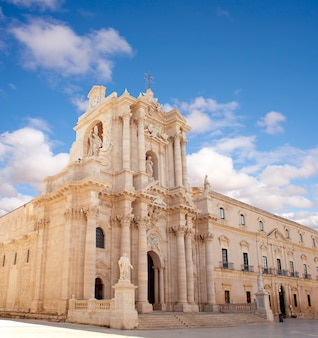Duomo di siracusa - cathédrale de syracuse