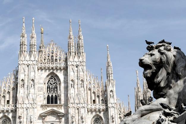 Duomo, milan italie