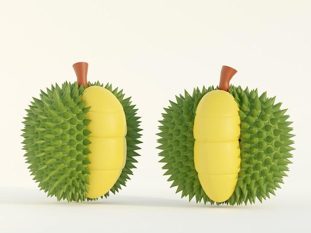 Le durian est un fruit qui a été désigné comme le roi des fruits de l'asie du sud-est