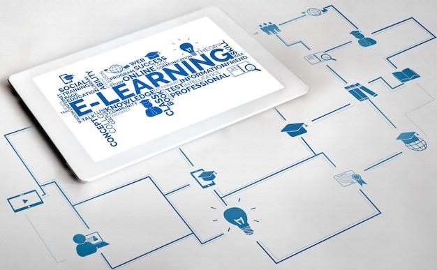 E-learning pour étudiant et université
