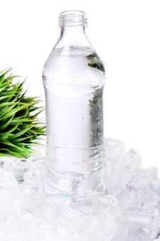 De l'eau fraîche en bouteille