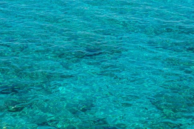 L'eau en mer méditerranée